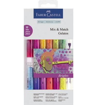 Gelatos - Mix & Match Brights aquarelkrijt