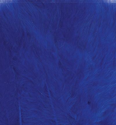 Veren Marabou Cobalt Blue