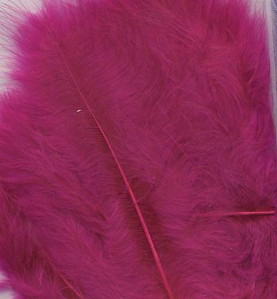 Veren Marabou Fuchsia