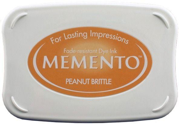 Inkpad Memento Peanut Brittle