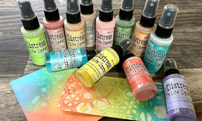 Distress Oxide Spray Set 2