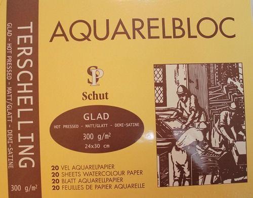 Schut Aquarelblok Terschelling Glad 24x30 cm