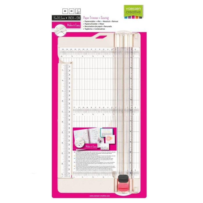 Vaessen Creative papiersnijder + riller 6