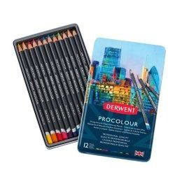 Derwent Procolour Pencils 12 tin