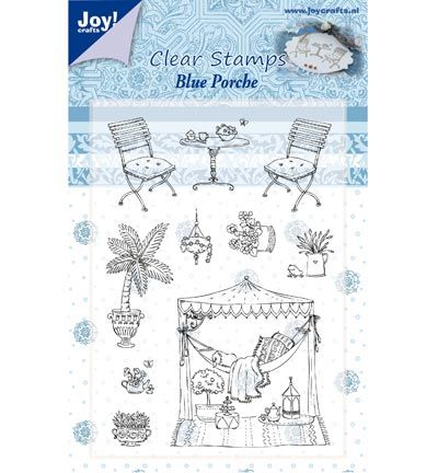 Joy Crafts Stempels Blue Porche