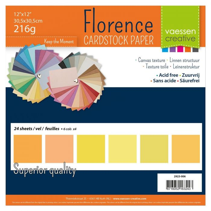 Florence cardstock 216g 12x12