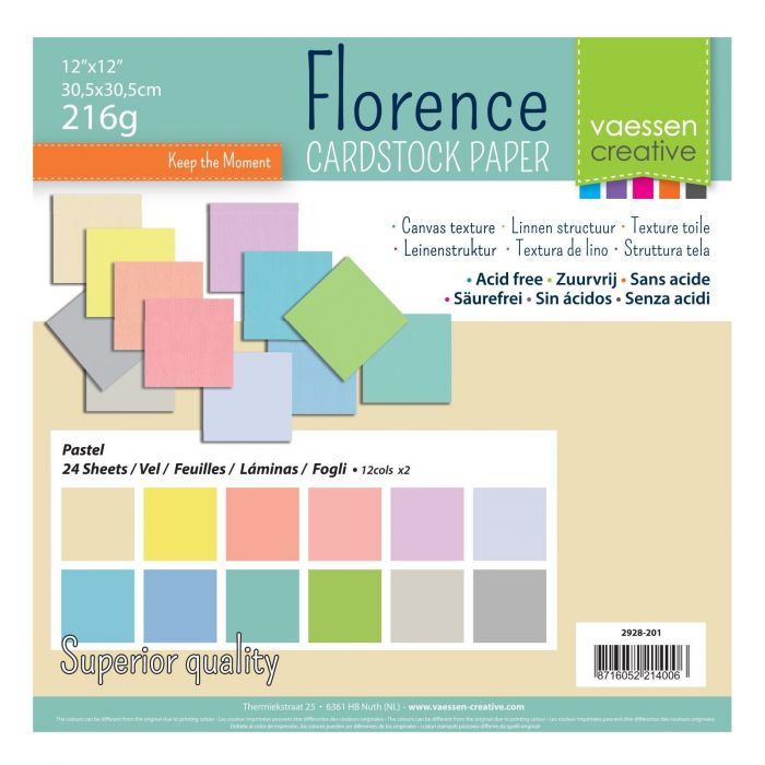 Florence cardstock 12x12