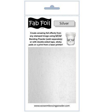 Wow Fabulous Foil Fabulous Foil Bright Silver