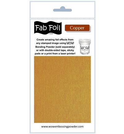 Wow Fabulous Foil Fabulous Foil Bright Copper