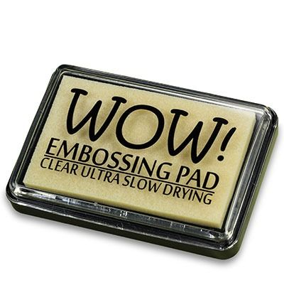 Wow! Embossing Pad Clear Ultra Slow Drying Ink Pad