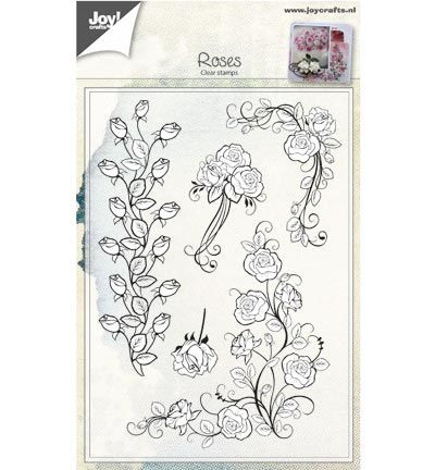 Joy Crafts stempel Rozen