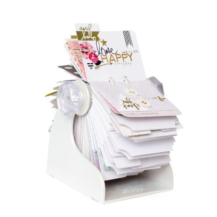 Heidi Swapp Memorydex Spinner White