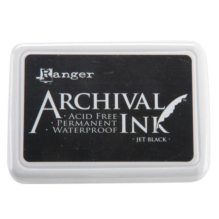 Archival Ink Jet Black Pad