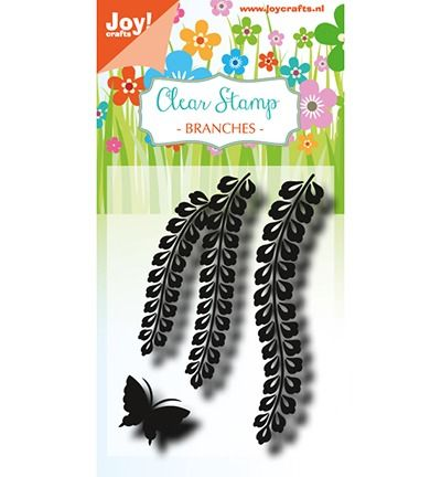 Joy Crafts Clearstamp - LH - Branches with butterfly