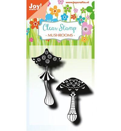 Joy Crafts Clearstempel - LH - Paddestoelen 1