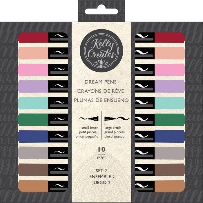Kelly Creates Dream Pens 10/Pkg Meadow