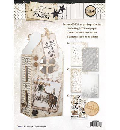 StudioLight MDF Pakket incl.papier Frozen Forest Lantern