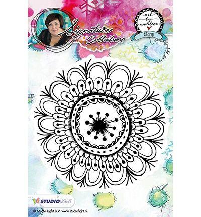 StudioLight Cling Stamp bloemen, Art By Marlene nr.05