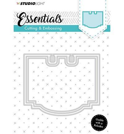 StudioLigth Embossing Die Cut Stencil Essentials nr.120