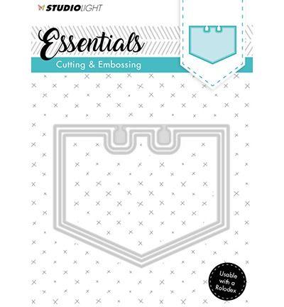 StudioLigth Embossing Die Cut Stencil Essentials nr.122