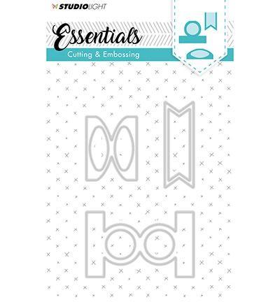 StudioLigth Embossing Die Cut Stencil Essentials nr.124