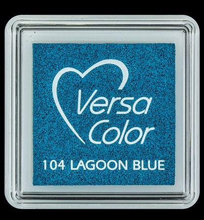 VersaColor small Inkpad - Lagoon Blue