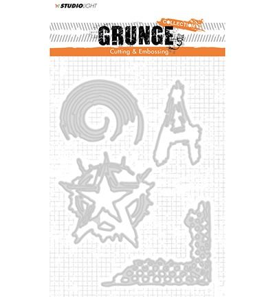 StudioLigth Cutting and Embossing Die, Grunge Collection nr.151