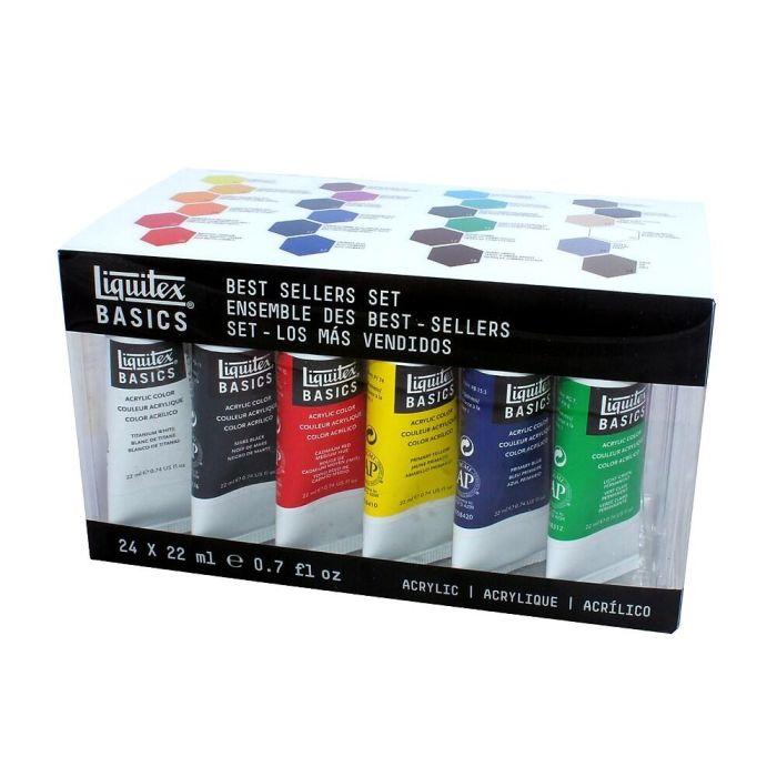 Liquetex Basics Acrylverf Best Sellers set - 24 tubes 22ml