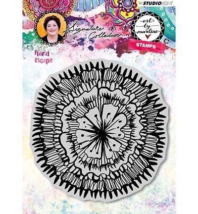 Art By Marlene 3.0 Cling Stamp  Floral Escape