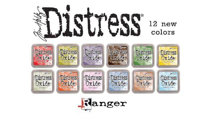 Tim Holtz Distress Oxide set 4