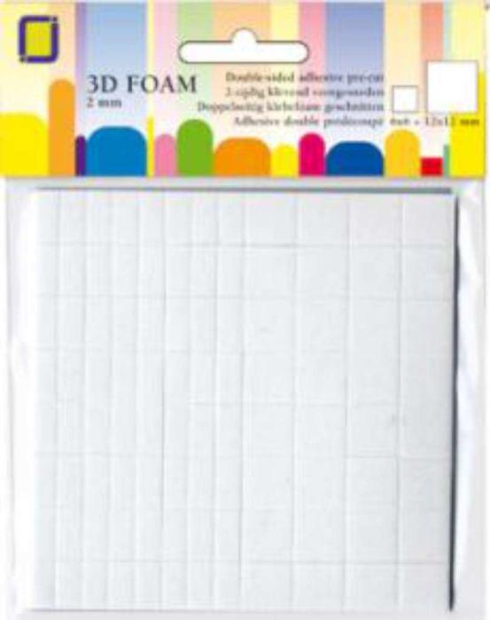 3D foam blokjes 1X3X3MM