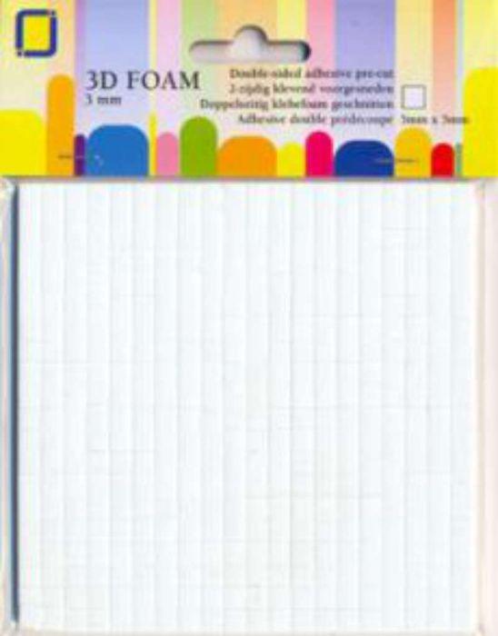 3D foam blokjes 3X5X5MM