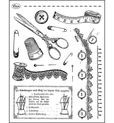 Silicone Stamp Tailoring