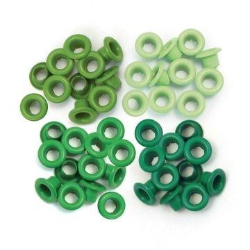Eyelets Green