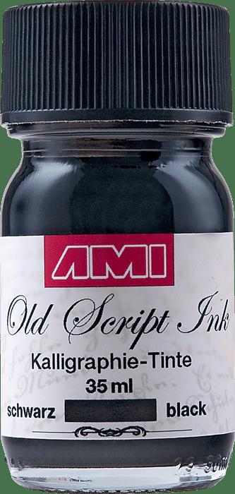 Old Script Ink (kalligraphie) 35ml zwart