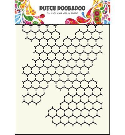 Dutch Mask Art stencil chicken wire - A5
