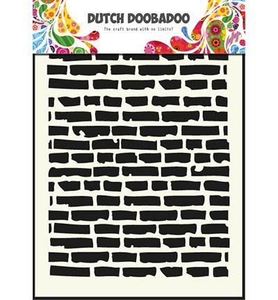 Dutch Mask Art Stencils bricks - A5