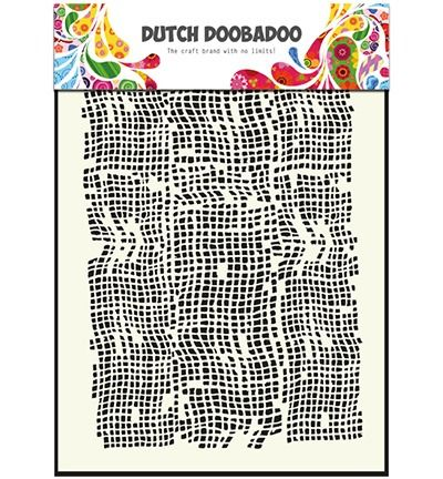 Dutch Mask Art Stencils burlap - A5