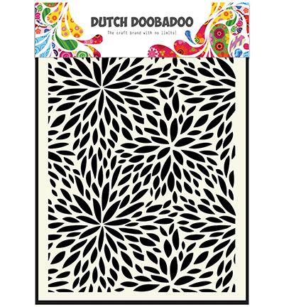 Dutch DooBaDoo Mask Art Floral Waves