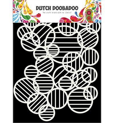 Dutch DooBaDoo Mask Art Circle lines