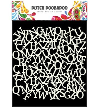 Dutch DooBaDoo Dutch Mask Art  Mask Art Alfabet