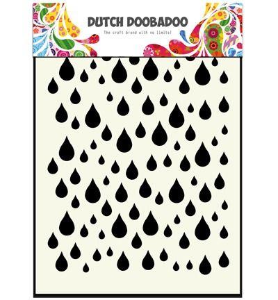 Dutch DooBaDoo Mask Art Rain drops
