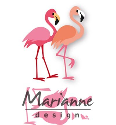 Marianne Design Collectable Eline's flamingo