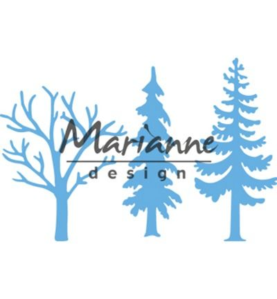 Marianne Design Creatables Forest trees (set of 3)