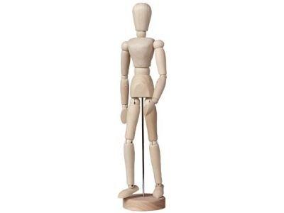 Ledenpop Serie A 11cm unisex naturel