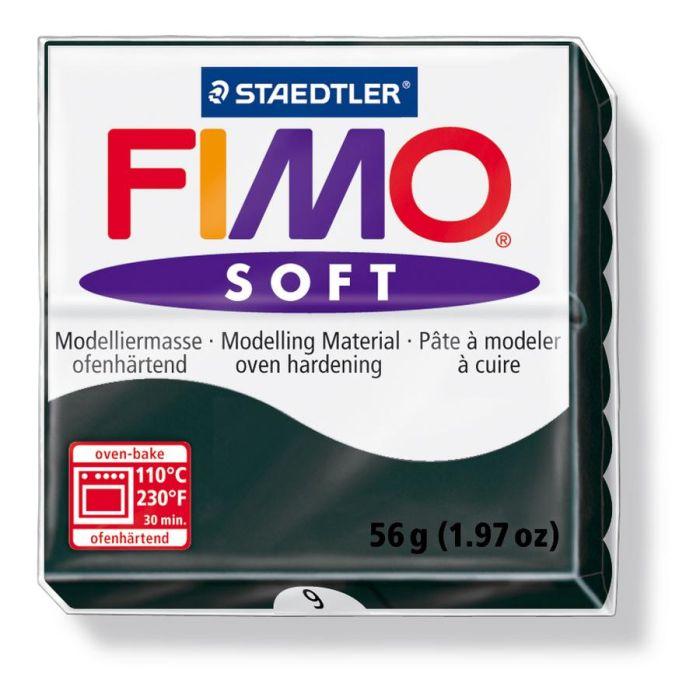 Fimo Soft zwart 56GR