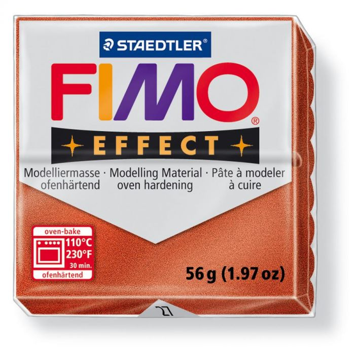 Fimo Effect metallic koper 56GR
