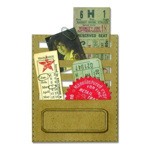 Sizzix Tim Holtz Thinlits Die - Stitched Slots