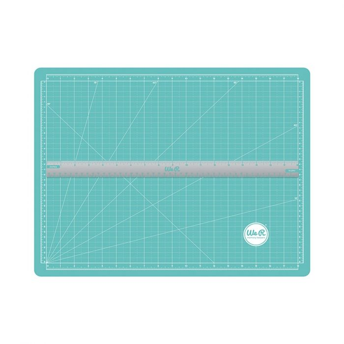 We R Memory Keepers scallopes magnetic cutting mat & ruler