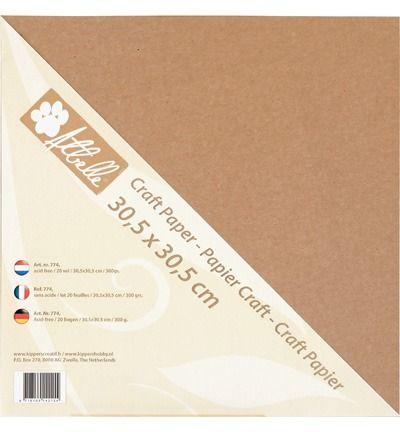 Craft paper 300 grams 20 vel